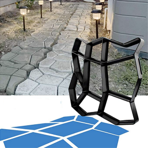 best irregular shape concrete paving molds