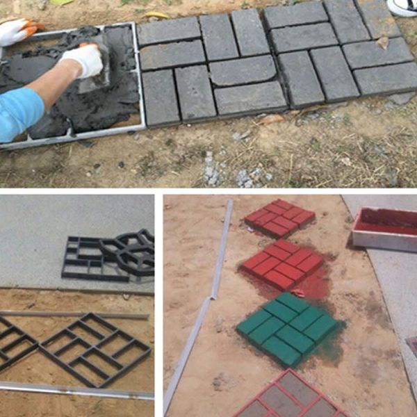 diy concrete drive way molds